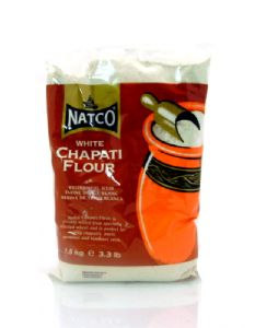 Chapati Flour [White Chapatti Atta] by Natco | Buy Online at The Asian Cookshop